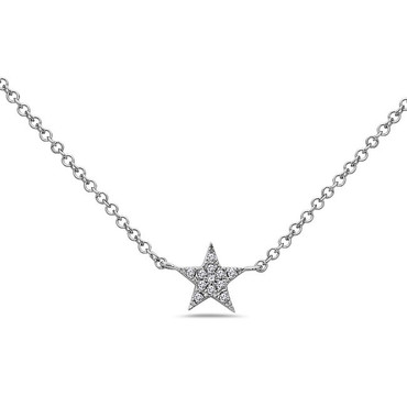 Bassali Diamond Star Pendant