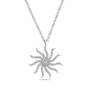 Bassali Diamond Starburst Pendant