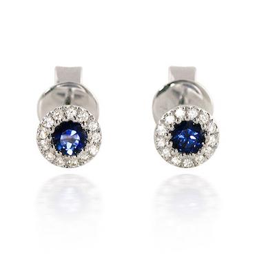 Bassali Sapphire Earrings