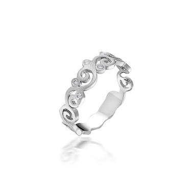 Bassali Swirl Ring