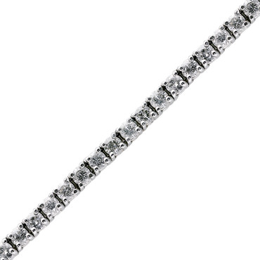 Classic 6.09ct Diamond Tennis Bracelet