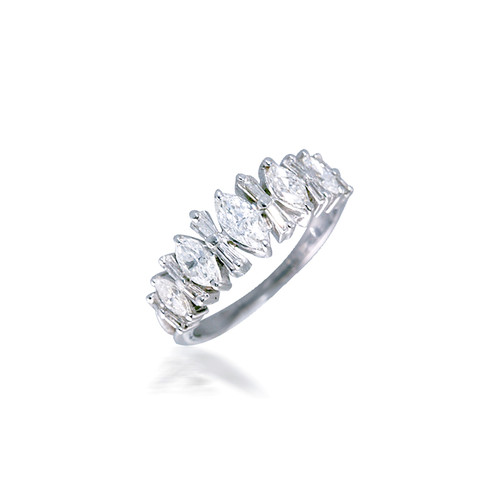 Marquise and Baguette  Diamond Band