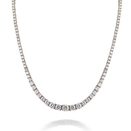 Diamond Tennis Necklace 2