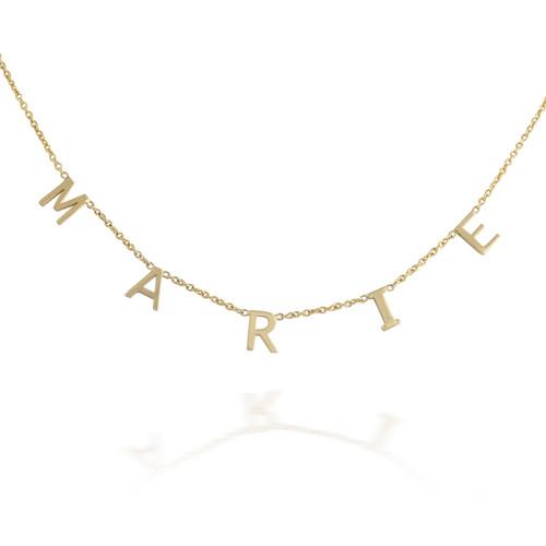 Customizable Wording Necklace