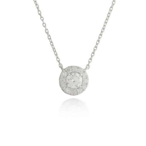Circle Diamond Pendant 2
