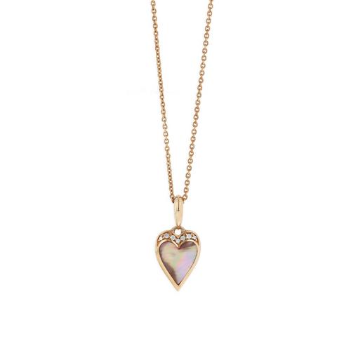 Kabana Oyster Heart Pendant