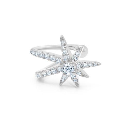 Graziela Diamond Starburst Cartilage Cuff