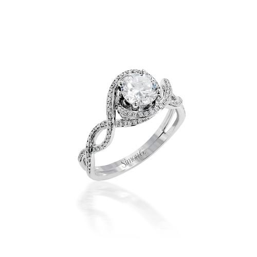 Simon G Moravian Engagement Ring Setting
