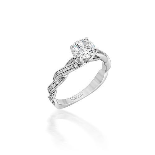 Simon G Wishes Engagement Ring Setting