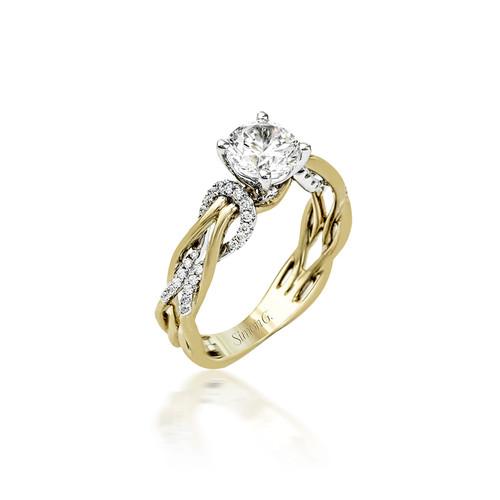 Simon G Infinite Love Engagement Ring Setting