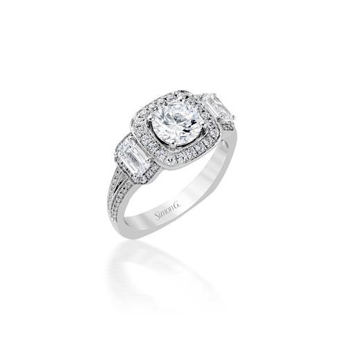 Simon G Melisende Engagement Ring Setting