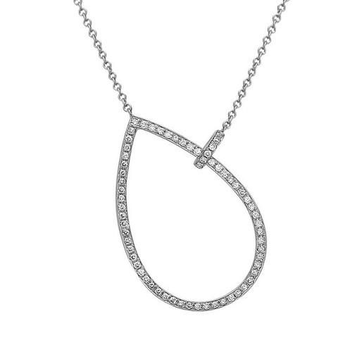 Bassali Diamond Lasso Necklace