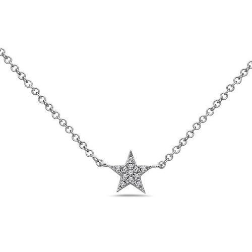 Bassali Diamond Star Pendant