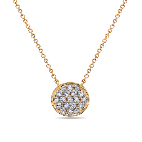 Bassali Diamond Pave Pendant