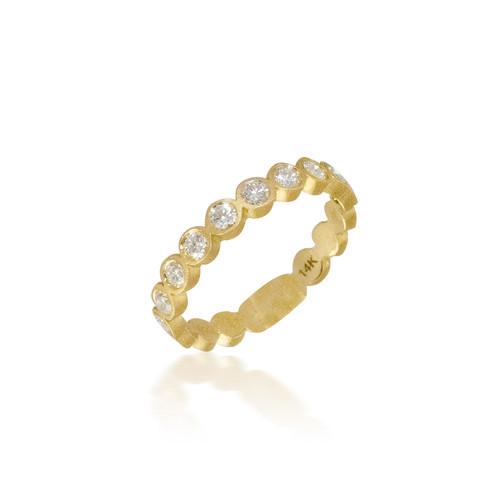 Bassali Large Bezel Set Ring