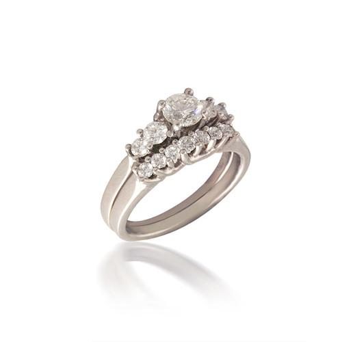 Diamond Lucida Bridal Set