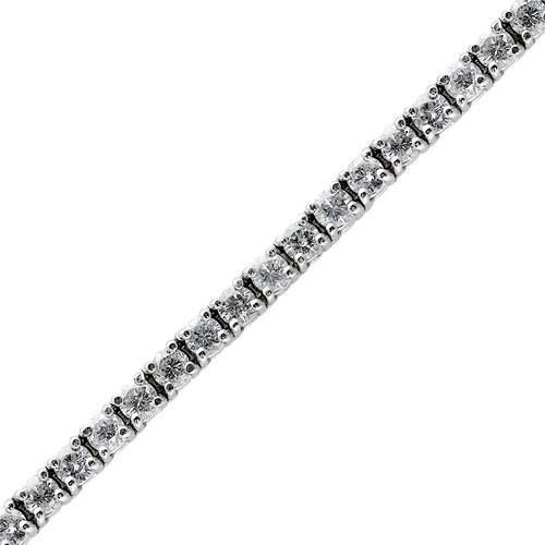 Classic 6.09ct Diamond Tennis Bracelet