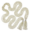 Kenneth Jay Lane Large Pearl Tassel Necklace