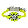 Shourouk Baraka Zoe Neon Yellow Bracelet