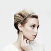 Jennifer Behr Tiny Silver Scalloped Headwrap