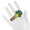 Dannijo Miranda Yellow Emerald Ring