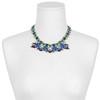 Dannijo Dina Emerald Sapphire Necklace