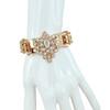 Mawi Crystal ID Rose Gold Bracelet