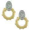 Lulu Frost Lunar Gold Crystal Earrings