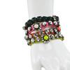 Shourouk Baraka Flower Red Bracelet