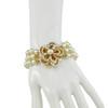 Miriam Haskell Three Row Pearl Bracelet