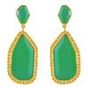 Melinda Maria Chrysoprase Earrings