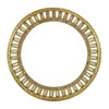 Lulu Frost Crest Bangle Gold