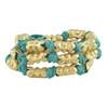 Lulu Frost Bells Beach Wrap Bracelet Blue