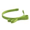L. Erickson Green Silk Double Bow Headband