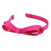 L. Erickson Bow Headband Hot Pink