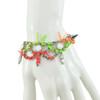 Joomi Lim Neon White Crystal Spike Bracelet