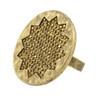 House of Harlow 1960 Gold Pave Sunburst Ring