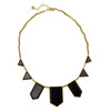 House of Harlow 1960 Black Resin Necklace