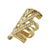 House of Harlow 1960 Pave Chevron Ring