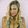 Ciner Turquoise Cabochon Bracelet