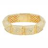 CC Skye Pave Stud Bracelet Gold