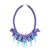 EK Thongprasert Purple De Poisson Necklace