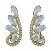 Vintage Juliana Aurora Borealis Earrings Brooch Set