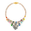 Shourouk Mini Theresa Multi Sequin Necklace