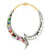 Shourouk Multi Neon Piuma Necklace