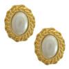Vintage Kenneth Jay Lane Crystal Earring Set