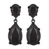 Kenneth Jay Lane Jet Black Earrings