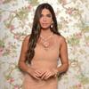 Ciner for Sophie Nadya Baby Pink Statement Necklace