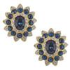 Kenneth Jay Lane Sapphire Earrings
