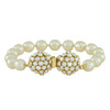 Miriam Haskell Dome Cluster Pearl Bracelet